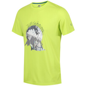Regatta Fingal IV T-Shirt Herren lime punch